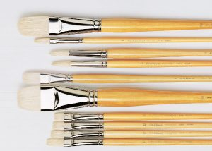 Brushes for Oils