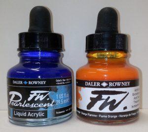 Daler-Rowney FW Acrylic Inks