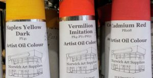 Norwich Art Supplies Artist Oil Colours