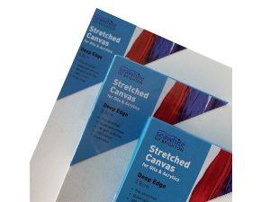 seawhite 3.8cm deep edge stretched primed cotton canvas